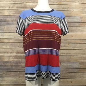 Ann Taylor LOFT Striped Shirt